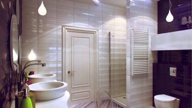 Bathroom Decor Unique Modern Themed Floor