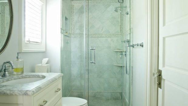Bathroom Glam Small Area Design Unique Custom