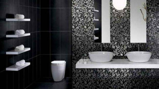 Bathroom Impressive Black Ideas