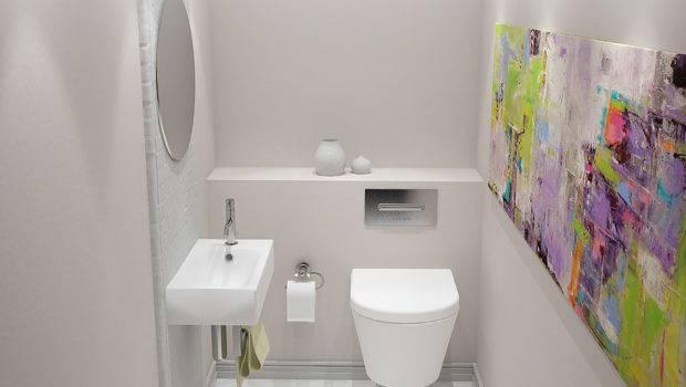 Bathroom Neat Clean Simple Designs