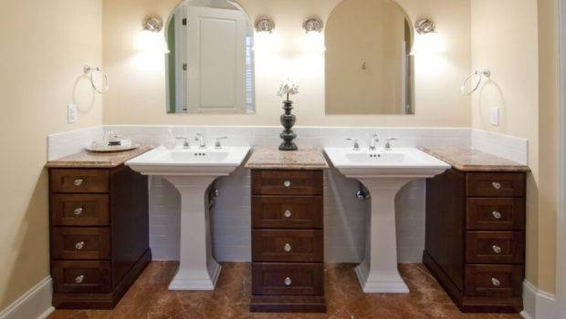 Bathroom Pedestal Sinks Standing Vanities