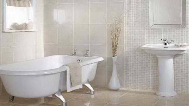 Bathroom Tile White Towel