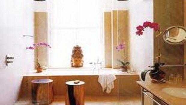 Bathroom Zen Decor Design Natural