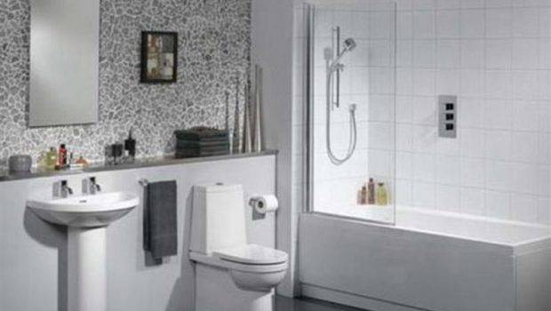 Bathrooms White Tile Ideas Modern