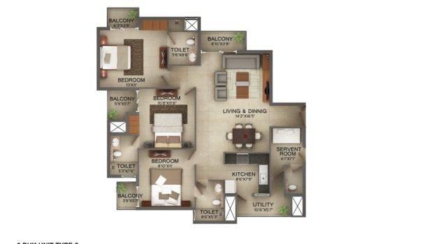 Bay Breeze Residences Roof Top Floor Plans Clipgoo