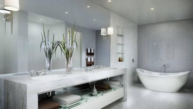 Beauteous Luxury Modern Bathrooms Design Basic Bathroom
