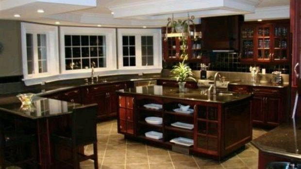 Beautiful Big Kitchen Future Home Pinterest