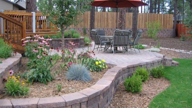 Beautiful Courtyard Landscaping Ideas Bistrodre Porch