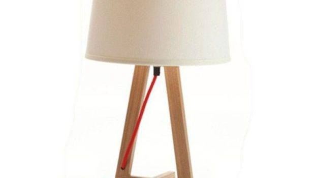 Beautiful Creamy Bedside Lamps Accent Bases Rilane