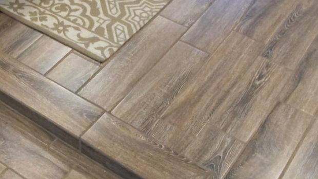 Beautiful Durable Basement Flooring Ceramic Wood Tiles