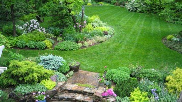 Beautiful Large Yard Landscaping Design Ideas