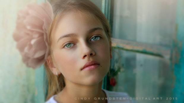 Beautiful Little Girl Cindysart Deviantart