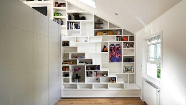 Beautiful Loft Design Solution Space Shortage
