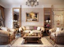 Beautiful Selection Living Rooms Decorated Classic Style