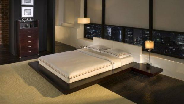 Bed Bedroom Japanese Style Houses Interior Interiordesign