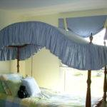 Bed Curtain Canopy Black Curtains