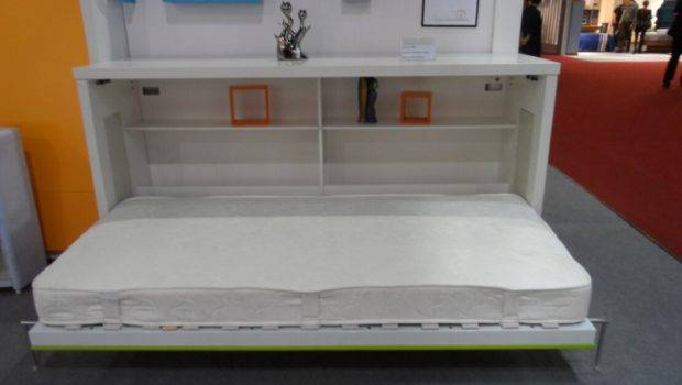 Bed Horizontal Space Saving Innovative Desk Saver Wall