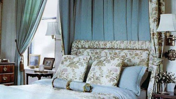 Bed Window Curtains Design