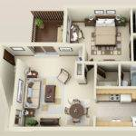 Bedroom Apartments Heated Pool Greenfield