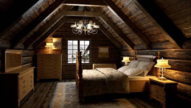 Bedroom Attic Model Max Cgtrader