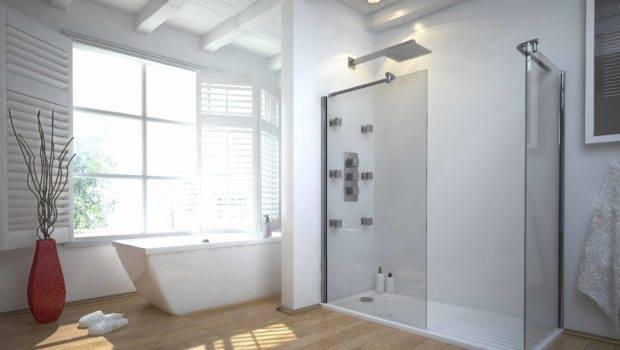 Bedroom Bathroom Breathtaking Walk Shower Designs