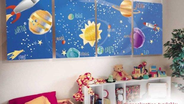 Bedroom Boy Outer Space Decor Ideas