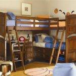 Bedroom Decorating Ideas Bunk Beds Boys Area