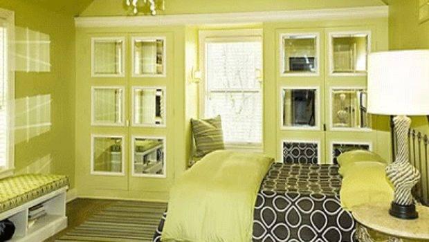 Bedroom Decorating Ideas Colors Green Paint Interior