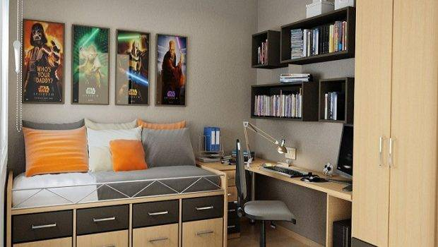 Bedroom Decorating Ideas Small Bedrooms Brown