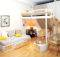 Bedroom Home Furniture Design Small Space Loft Bed