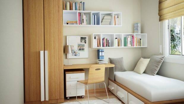 Bedroom Interior Design Clean Cozy Atmosphere White