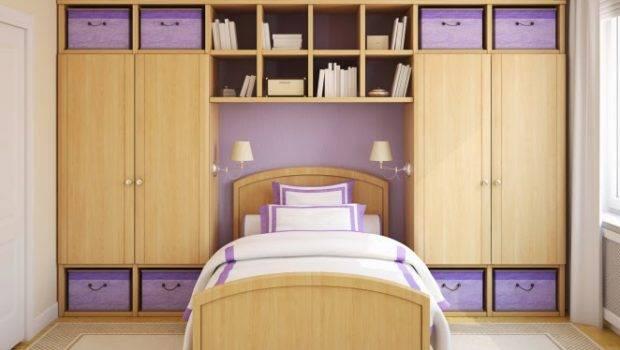 Bedroom Storage Solutions Recessed Shelves