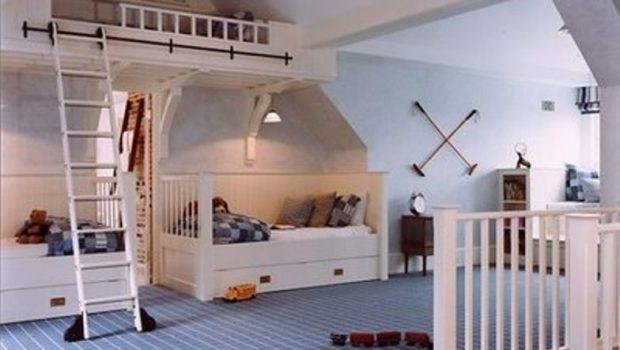 Bedroom Symmetrical Bed