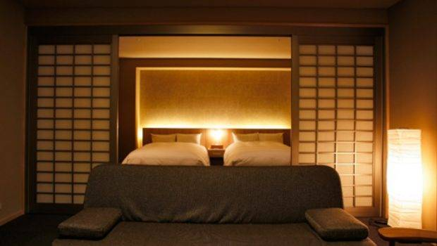 Bedrooms Japanese Asian Bedroom Lightning Style