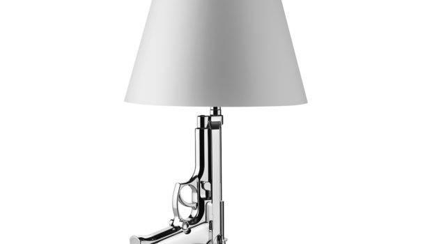 Bedside Gun Lamp Hivemodern