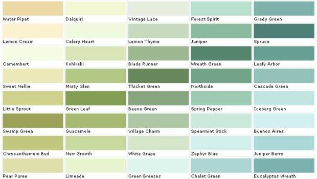 Behr Paints Chip Color Swatch Sample Palette Car Tuning