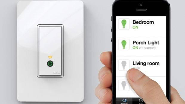 Belkin Launches Smartphone Controlled Light Switch