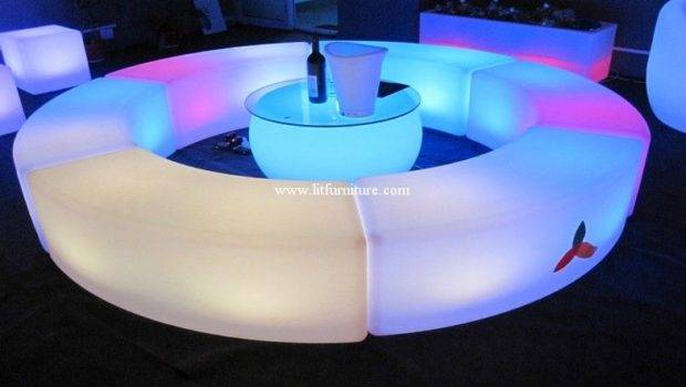 Benches Led Outdoor Glowing Furniture Supplier