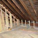 Bennett House Attic Its Cathedral Ceilings