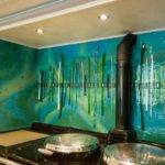 Bespoke Fused Glass Art Kitchen Splashbacks Dalaman Designs House