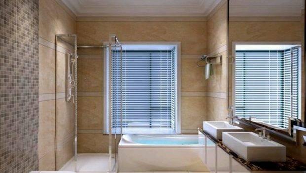 Best Bathrooms Grasscloth