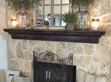 Best Decorating Mantle Ideas Pinterest Fire