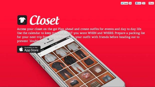 Best Fashion Apps Sites Help Organize Your Closet