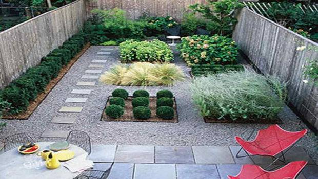 Best Home Design Ideas Small Backyard Landscaping Without Grass