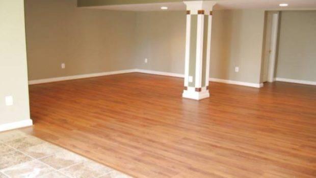 Best Laminate Wood Floor Basement Good Laying