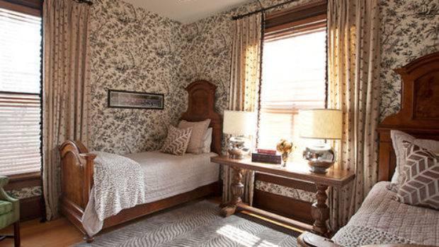 Best Victorian Bedroom Multicolored Walls Design