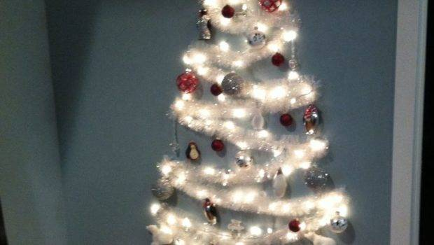 Best Wall Christmas Tree Ideas Pinterest