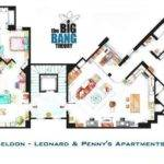Big Bang Theory Apartment Floor Plan Geek Credentials Pinterest