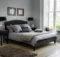 Black Grey Bedroom Gray Dark Blue Multidao