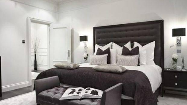 Black Grey Bedroom Houzz